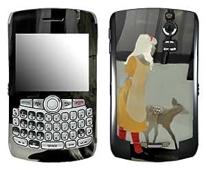MusicSkins, MS-SHRP60006, Sharp Shirter - Alice, BlackBerry Curve (8300/8310/8320), Skin