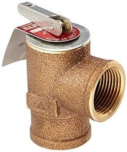 Watts 034269130PSI presión válvula de alivio, bronce, 3/4335M2–030, Modelo: 342691, herramientas y Ferretería