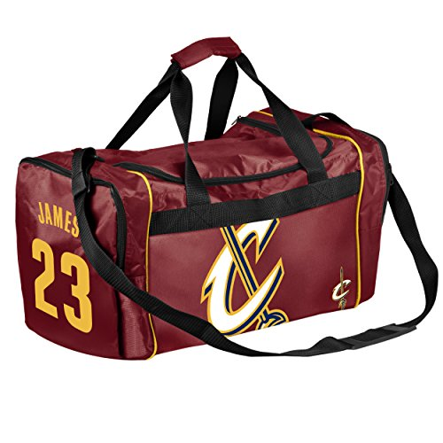 FOCO Cleveland Cavaliers LeBron James #23 Core Duffel Bag by FOCO