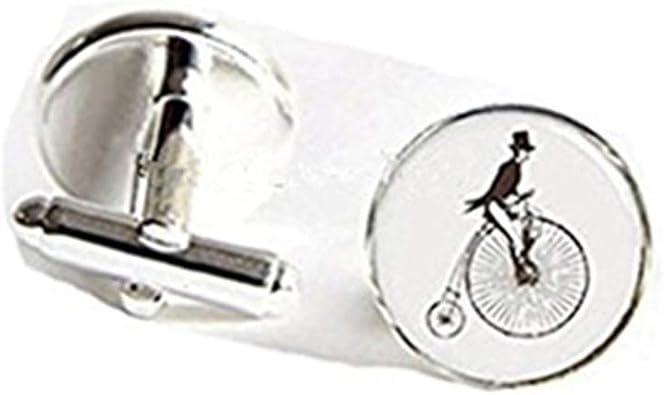 Gemelos de para bicicleta Ride Bike Cuff Enlace Plata Vintage para ...