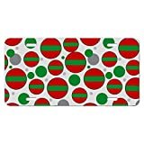 Transnistria National Country Flag Novelty Metal Vanity License Tag Plate