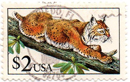 USA Postage Stamp Single 1990 Bobcat Issue 2 Dollar Scott #2482