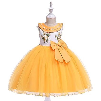 Vestido de niña Niños Mangas de niña Vestido de princesa de ...
