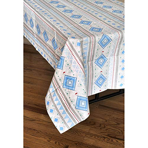 The Adventure Begins BOY Paper Tablecover (54''x108'', Tribal Pattern) The Adventure Begins Collection by Havercamp