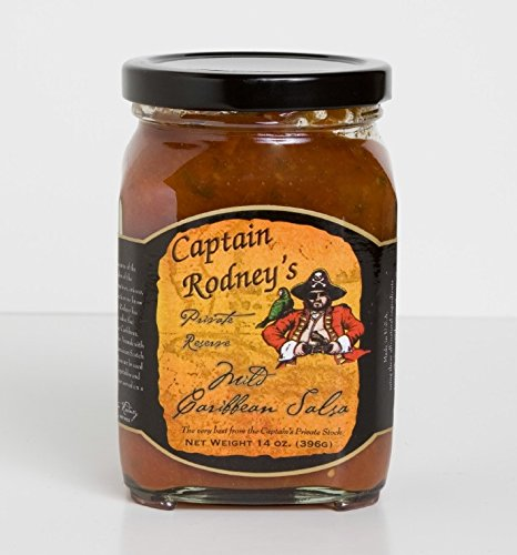 Captain Rodney's Private Reserve - Mild Caribbean Salsa 14 Ounce