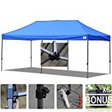 AbcCanopy 10x20 Straight Leg Pop-up Canopy Commercial Grade Instant Canopy ...