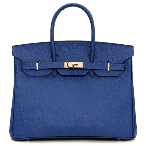 Macton - Tote Bag For Women Red Blue Red 35 Cm