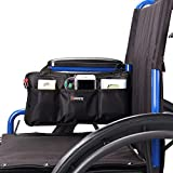 Wheelchair Side Bag for Back of Chair and Armrest Wheelchair Accessories Storage Bag Pouch wheelchair backpacks