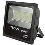 Titan Lighting Bronze 150W Led Flood Lights, 250W HPS/HID Replacement, 12750LM, 6000K Day Light, Waterproof, 120-277V, Instant on