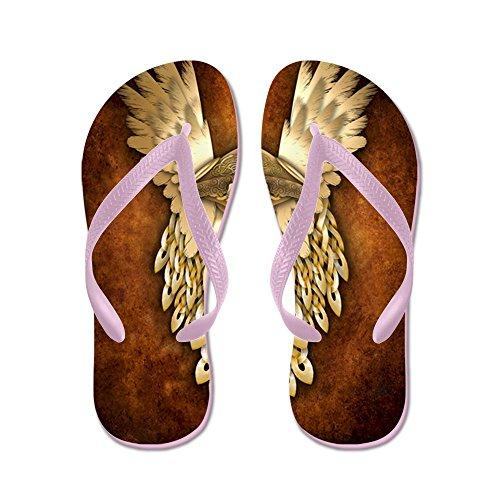 CafePress Thor - God Of Thunder - Flip Flops, Funny Thong Sandals, Beach Sandals Pink