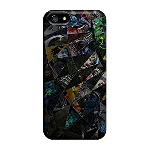New Tessellation Eye Tpu Skin Case Compatible With Iphone 5/5s