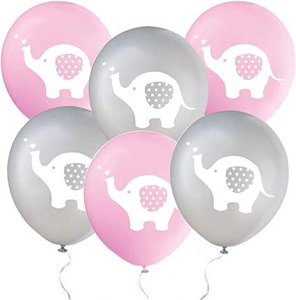 Amazon.com: Globos de fiesta con diseño de elefante, 32 ...