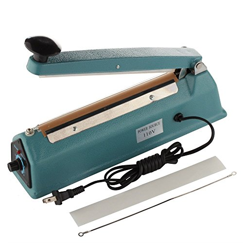 8 inch impulse sealer with cutter - 5
