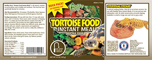 Image of San Francisco Bay Brand SSF71945 Bulk Healthy Herp Tortoise Mix Instant Meal, 3.5-Ounce