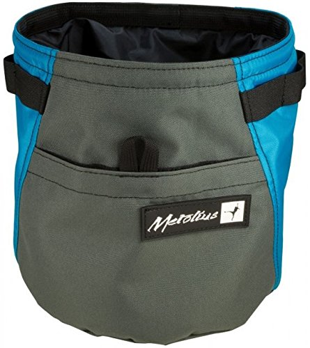 Metolius Dust Bin Chalk Bag Teal, One size