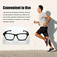 Cherry-Lee Smart Bluetooth Glasses Headset Headphone Music Glasses Headsets Car Sports Anti-Blu-ray Glasses Compatible Various Smart Bluetooth Devices Built-in 60mAh Polymer Battery
