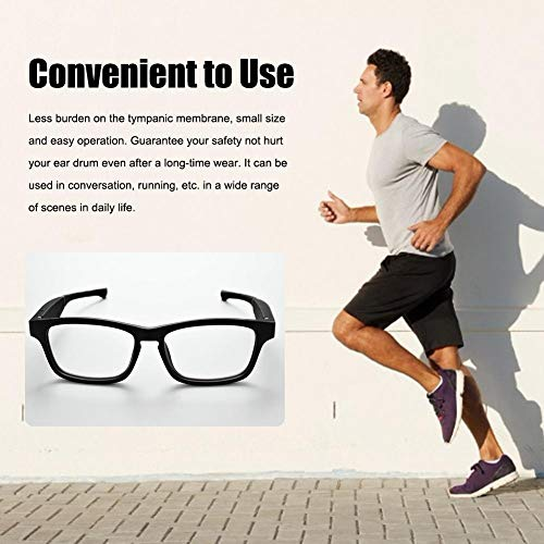 goodshare Bluetooth Smart Glasses Open Directional Audio Glasses Smart Wireless Bluetooth Headset Glasses Car Sports Anti-Blu-ray Bluetooth Glasses Compatible with Various Smart Bluetooth First-Rate