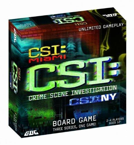 CSI Board Game by GDC