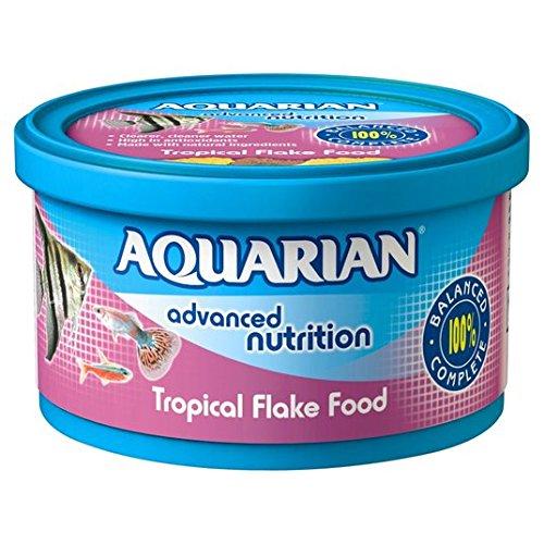 Acuario de peces tropicales de comida Flakes 25g