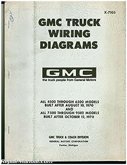 x 7105 used 1971 gmc truck wiring diagrams manufacturer amazon com Truck Chevy Silverado Wiring Diagram
