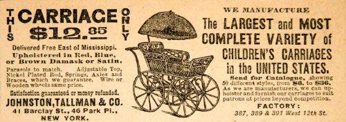 1890 Baby Stroller - 1