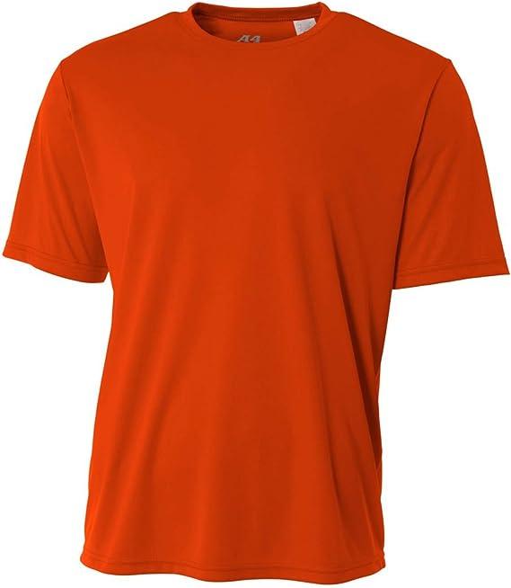 A4 Men/'s New Dri-Fit Workout Running Cooling Performance T-Shirt S-3XL