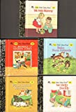 img - for Little Little Golden Books, Books 11-15: We Help Mommy, Baby Farm Animals, The Animals of Farmer Jones, We Help Daddy, Four Little Kittens book / textbook / text book