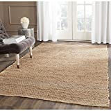 Safavieh Cape Cod Collection CAP355A Hand Woven Flatweave Natural Jute Area Rug (2' x 3')
