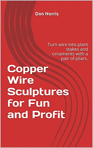 Copper Wire Sculptures for Fun and Profit: Turn wire into plant stakes and ornaments with a pair of pliars. (Hummingbird, Angel, Bunny Rabbit and Pig Book (Fun Sculpture)