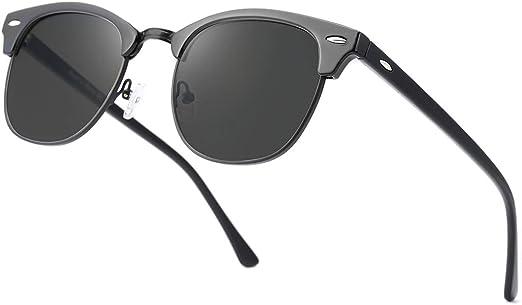 Men/'s Semi-Rimless 2020 Design Sunglasses Women Men Polarized Sun Glasses