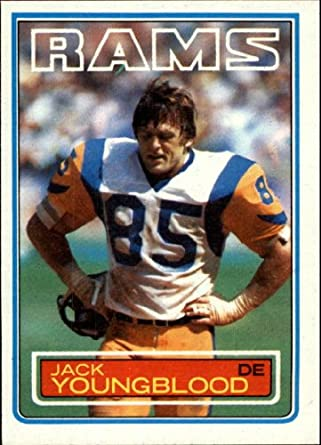 Amazon.com  1983 Topps Football Card  96 Jack Youngblood Mint  Collectibles    Fine Art 8f2b301d4