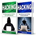 Hacking: 2 Books in 1: The Ultimate Beginner's Guide to Learn Hacking Effectively & Tips and Tricks to learn Hacking Audiobook by Daniel Jones Narrated by Pete Beretta