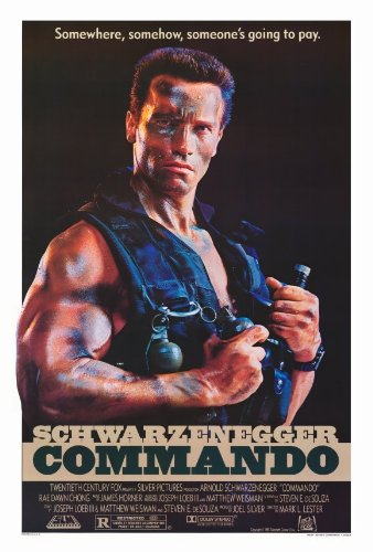 Commando 27x40 Movie Poster 1985