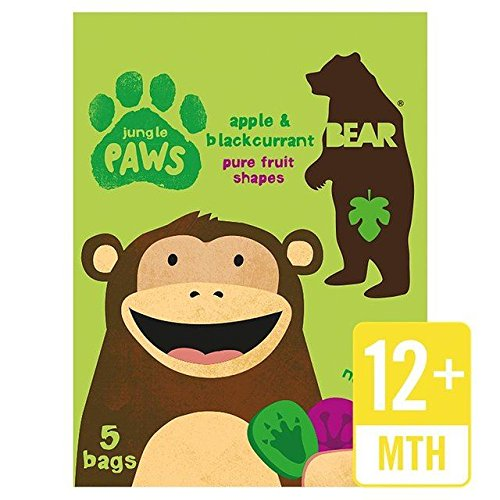 (Bear Fruit Paws Jungle Apple & Blackcurrant Multipack - 5 x 20g)