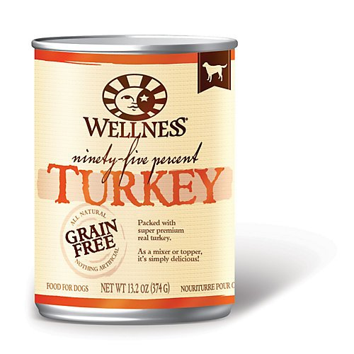 Wellness-95-Natural-Wet-Grain-Free-Canned-Dog-Food-132-Ounce-Can-Pack-of-12