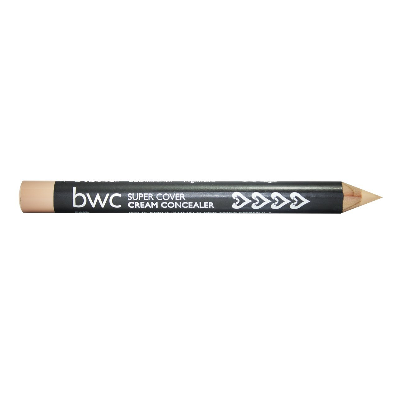 Beauty Without Cruelty Supercover Cream Concealer Pencil Fair Ultra Glow Cosmetics Ltd BE-2165
