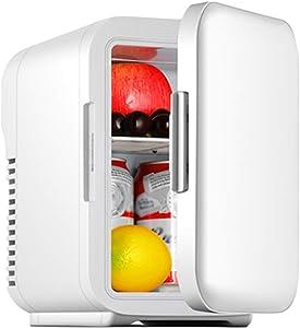 YYXA Mini Fridge 5 Liter, 6 Cans Cooler & Warmer Small Fridge Portable AC/DC Refrigerator for Car and Home Fridge Freezer