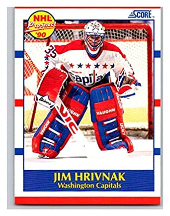2c07d158bc8 Amazon.com  Hockey NHL 1990-91 Score  386 Jim Hrivnak  386 NM RC ...