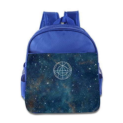 Bliich Tottem In Wide Starry Sky Full Of Stars Printed Kids School Bag Backpack