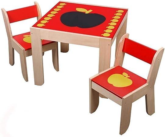 Tavolo In Legno Per Bambini Con Sedie.Labebe Legno Tavolino E Sedia Bambini Con Lavagna Di 1 5 Anni
