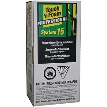 Touch 'n Foam Pro System 15 Polyurethane Spray Insulation