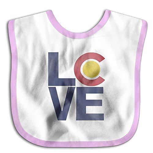 Baby Boys Girls Love Colorado Drooler - Mall Pueblo