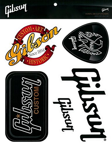 Gibson Sticker Pack