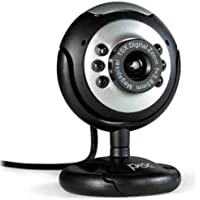 Webcam 1.3MP Redonda com microfone 1818 Pisc