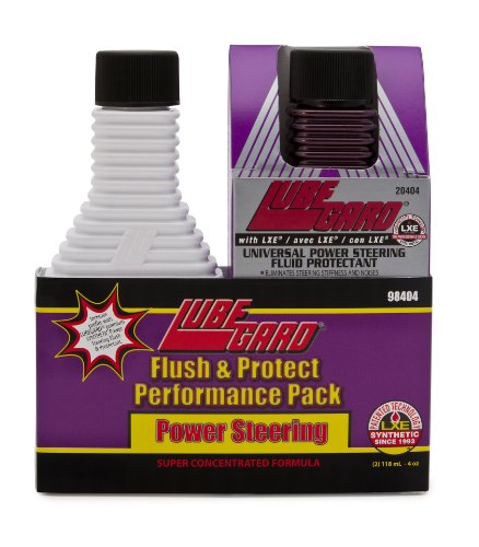 lubegard-98404-power-steering-flush-and-protect-performance-pack