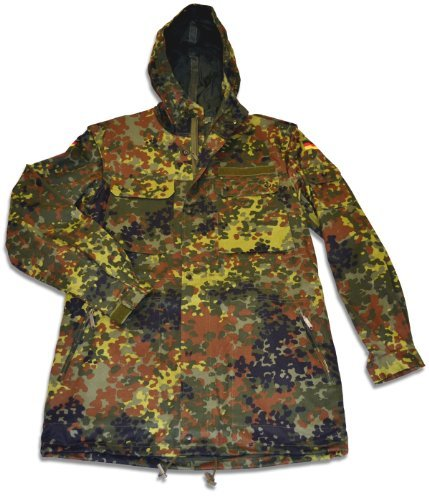 New German Flecktarn Camouflage Parka - (German Camouflage)