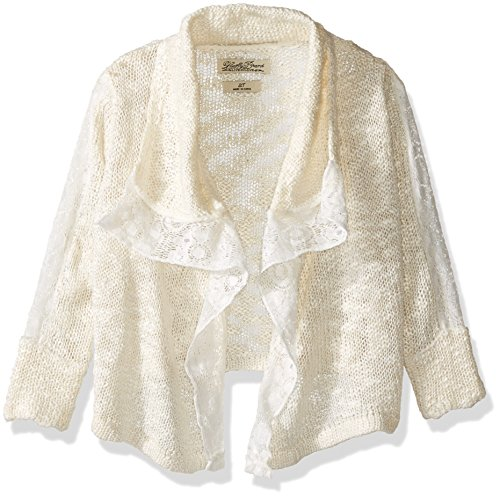Lucky Brand Big Girls' Square Cozy, Vanilla Ice, 14/16 by Lucky Brand