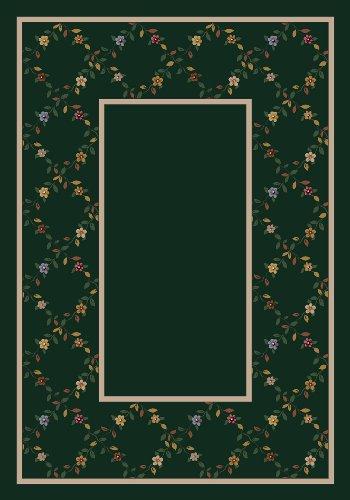 Design Center Maiden Emerald Rug Rug Size: 7'8