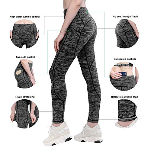 28749feea04 Yunoga High Waist Women Yoga Pants