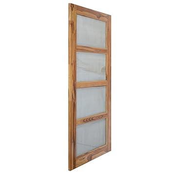 Splice Door Solid Teak Wood Jali Door 198x091 M